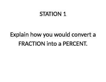 Converting Between Fractions, Decimals, and Percents - Gal