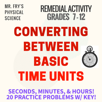 Converting Between Time Units