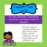 Converting Capacity: Customary and Metric Task Cards