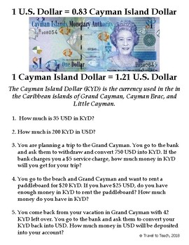 Converting Currency