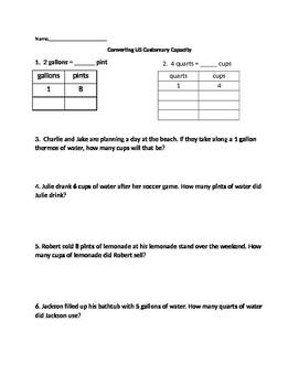 Free grade 3 measuring worksheets