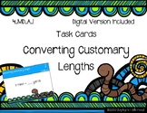Converting Customary Length {Math Task Cards}