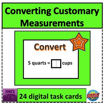 Converting Customary Measurements