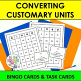 Converting Customary Units  Bingo