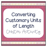 Converting Customary Units of Length Activity
