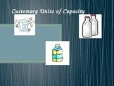 Converting Customary Units of Capcity