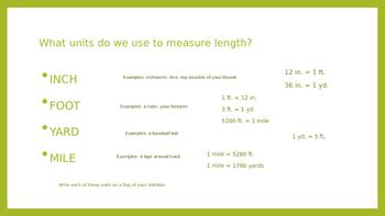 Converting Customary Units of Length