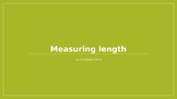 Converting Customary Units of Length