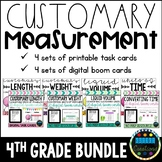 Converting Customary Units of Measure BUNDLE