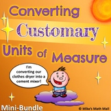 Converting Customary Units of Measure (Mini Bundle)