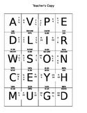 Converting Decimals, Fractions, Ratios, and Percents Puzzle