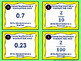 Converting Decimals and Fractions Task Cards