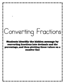 Converting Fractions