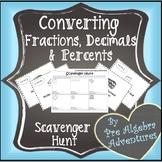 Converting Fractions, Decimals, Percents Activity {Fraction Decimal Percent}