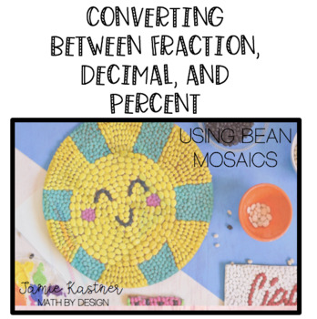 Converting Fractions/Decimals Percents Mosaics: FULLY DIFFERENTIATED