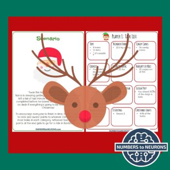Converting Fractions, Decimals, & Percents CHRISTMAS GAME