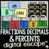 Converting Fractions, Decimals and Percents Digital Math E
