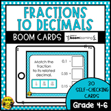 Converting Fractions to Decimals | Boom Cards