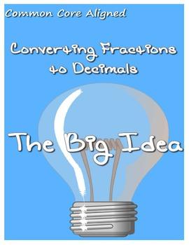 Converting Fractions to Decimals Using Decimal Grids