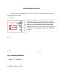 Converting Fractions to Decimals Worksheet and/or Activity