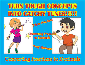 Converting Fractions to Decimals song