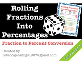 Converting Fractions to Percents Game