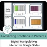 Converting Fractions to Percents | Interactive Digital Vis