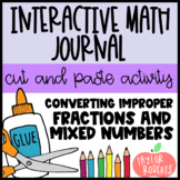 Converting Improper Fractions & Mixed Numbers - An Interac