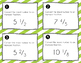 Converting Improper Fractions and Mixed Numbers: 20 Task Cards