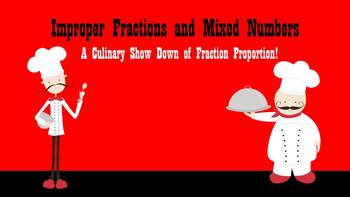 Chef Show Down: A Three Day Unit on Improper Fractions and Mixed Numbers