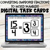 Converting Improper Fractions to Mixed Numbers Google Slid