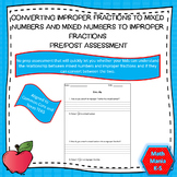 Converting Improper Fractions to mixed numbers and mixed n