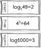Converting Logarithmic and Exponential Forms Chain Activity
