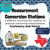 Converting Measurement Stations