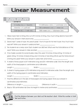 Converting Measurement Units (CCSS 5.MD.A.1)