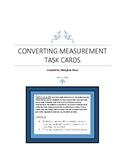 Converting Measurement task cards