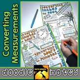 Converting Measurements Doodle Notes