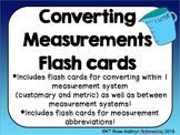 Converting Measurements Flash Cards