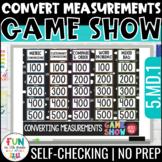 Converting Measurements Game 5th Grade | Test Prep | Dista