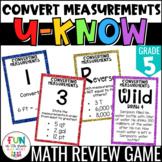 Converting Measurements Game: U-Know | Convert Measurement