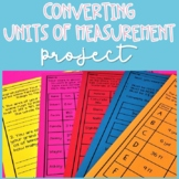 Converting Units of Measurement Project | Customary and Metric