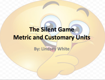 Converting Measurements Silent Game