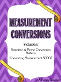 Converting Measurements (Standard and Metric) - Posters &