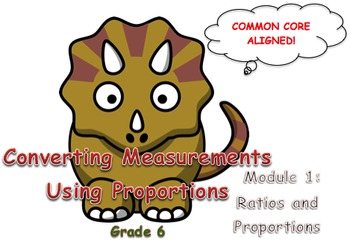 Converting Measurements Using Proportions