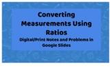 Converting Measurements Using Ratios