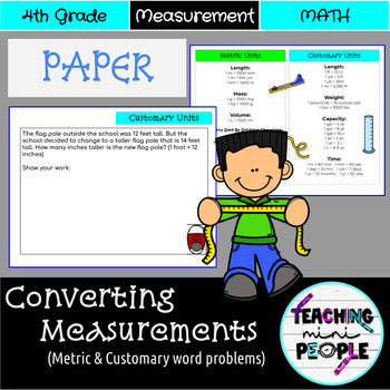 Converting Measurements Word Problems