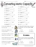 Converting Metric Capacity (liter, milliliter) WS