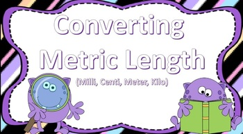 Converting Metric Length ((purple monster theme))