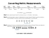 Converting Metric Measurements