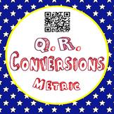 Converting Metric Measurements- QR Task Cards TEKS 4.8